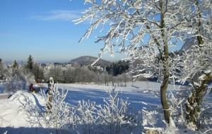 Geisingberg im Winter, Winterurlaub in Geising