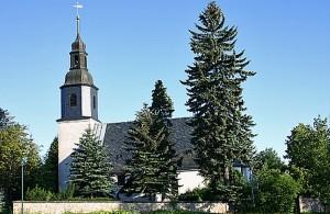 die Kirche in Schellerhau