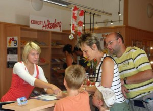 Tourist Info Büro in Altenberg